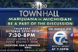 Watch tonight: Detroit 2020 Town Hall: Marijuana in Michigan