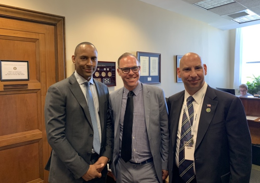 Barton Morris alongside other attorneys for the 2019 NCIA Lobby Days