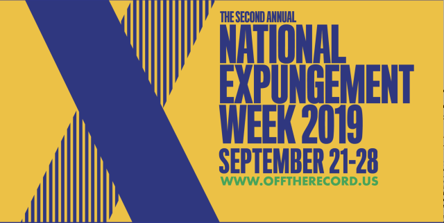 National Expungement Week 2019