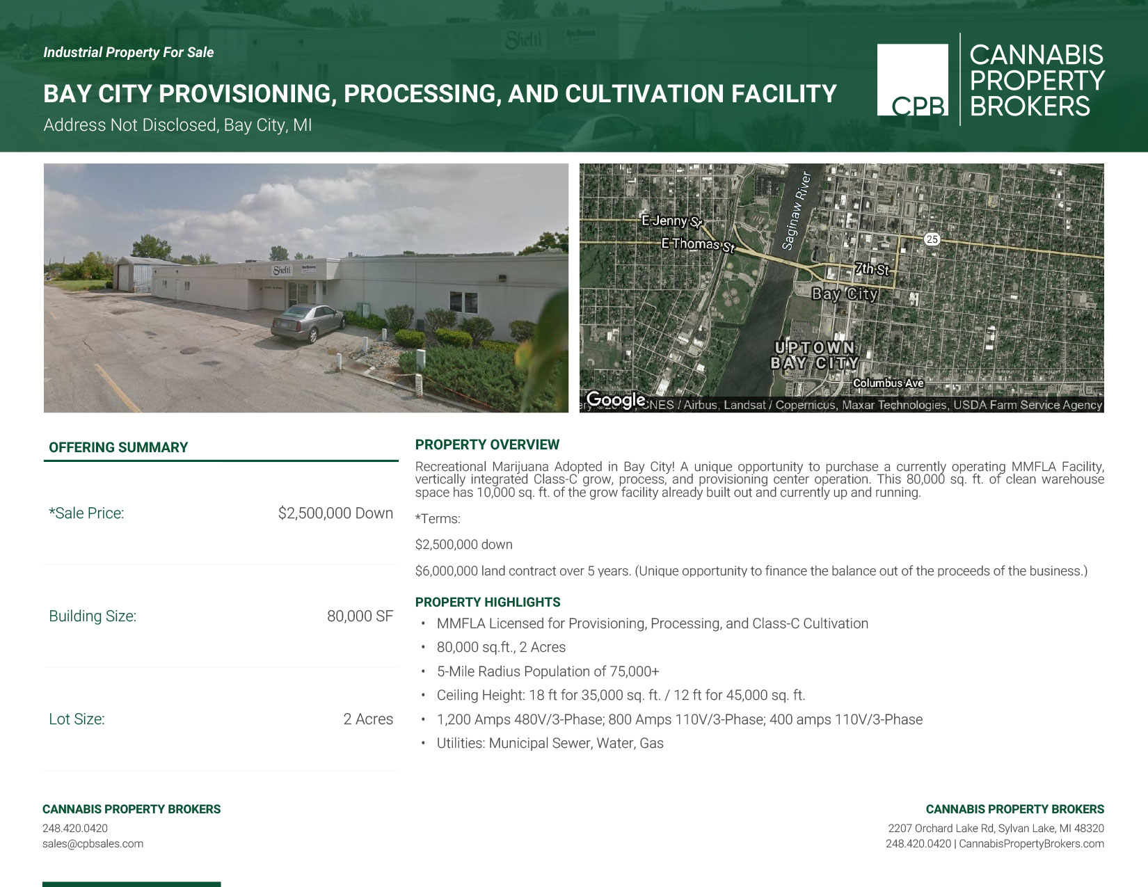 Bay City - PC. Processing. Grow - Marketing Material