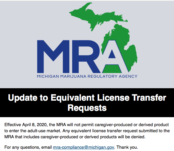 MRA Update to Equivalent License Transfer Requests