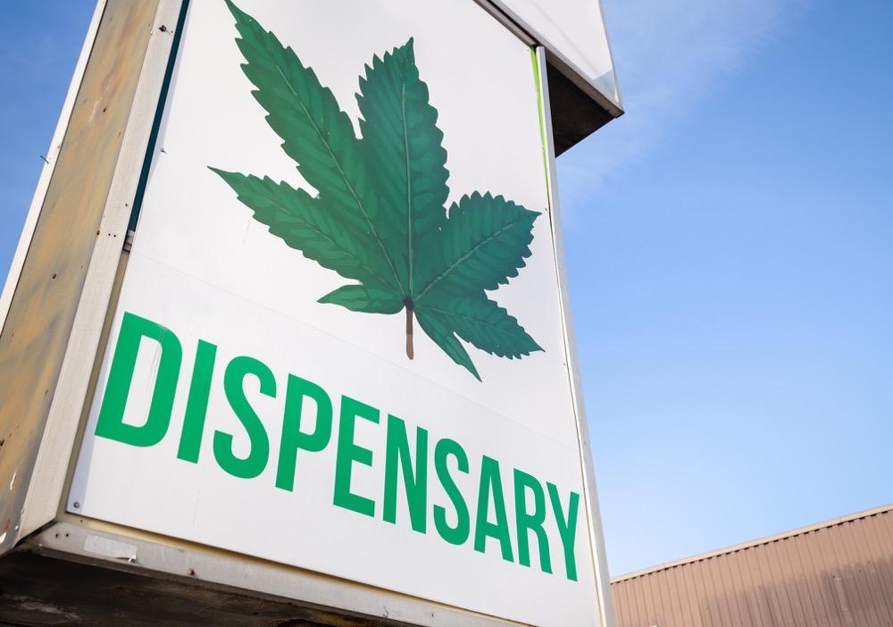 Marijuana dispensary stock photo