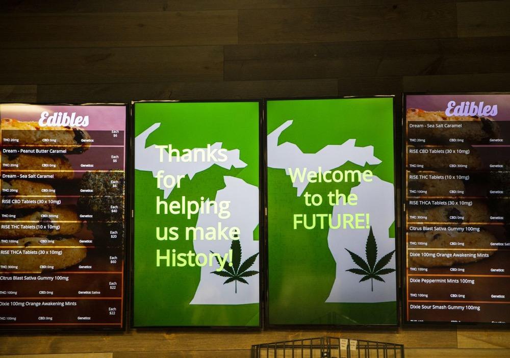 Photo of KKind Provisioning Center menu boards In Kalamazoo